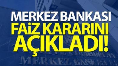 Photo of Merkez Bankası faiz kararını açıkladı!