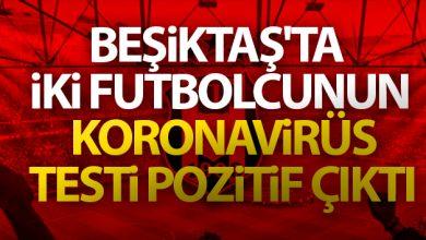 Photo of Beşiktaş'ta iki futbolcunun koronavirüs testi pozitif çıktı!