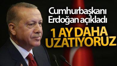 Photo of Cumhurbaşkanı Erdoğan: Kısa çalışma ve işsizlik ödeneğini 1 ay daha uzatıyoruz