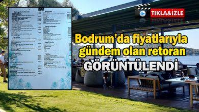 Photo of Bodrum'da fiyatlarıyla gündem olan restoran görüntülendi