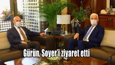 Photo of Gürün, Soyer'i ziyaret etti