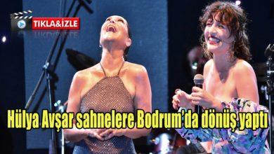 Photo of Hülya Avşar sahnelere Bodrum'da geri döndü