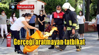 Photo of Menteşe Belediyesinden gerçeği aratmayan tatbikat