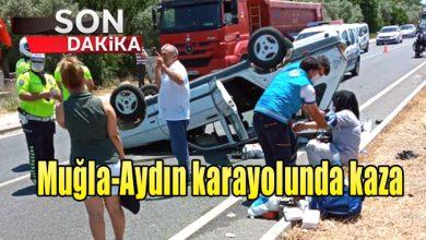 Photo of Muğla-Aydın karayolunda kaza
