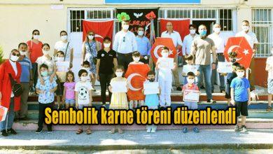 Photo of Sembolik karne töreni düzenlendi