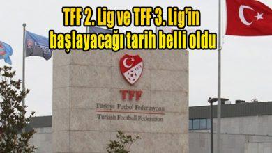 Photo of TFF 2. Lig ve TFF 3. Lig'in başlayacağı tarih belli oldu