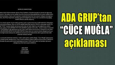 """Photo of ADA GRUP'tan """"CÜCE MUĞLA"""" açıklaması"""