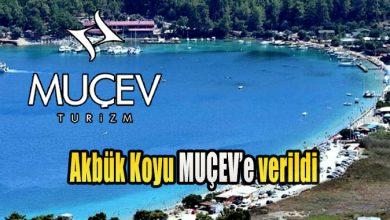 Photo of Akbük Koyu MUÇEV'e verildi