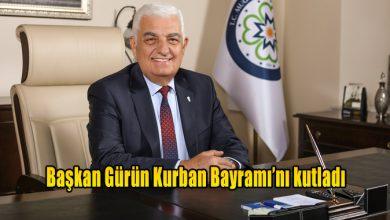 Photo of Başkan Gürün Kurban Bayramı'nı kutladı