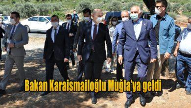 Photo of Bakan Karaismailoğlu Muğla'ya geldi