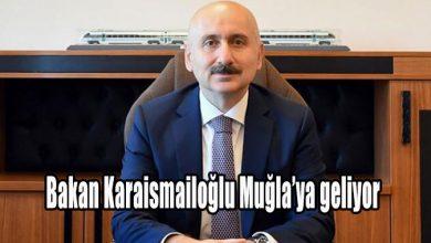Photo of Bakan Karaismailoğlu Muğla'ya geliyor