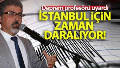 Photo of Deprem profesörü uyardı: 'İstanbul için zaman daralıyor'