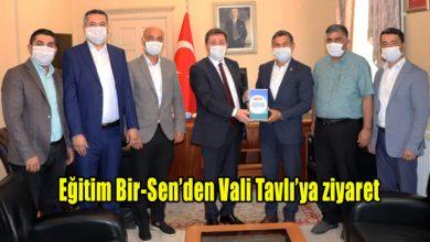 Photo of Eğitim Bir-Sen'den Vali Tavlı'ya ziyaret