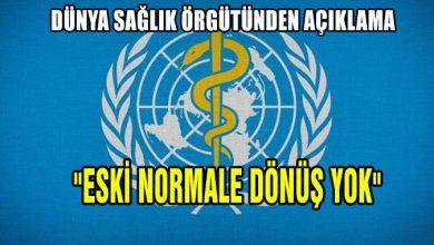 Photo of Dünya Sağlık Örgütü'nden flaş açıklama
