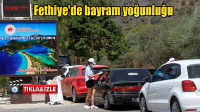 Photo of Fethiye'de bayram yoğunluğu