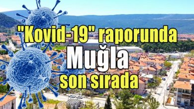 "Photo of ""Kovid-19"" raporunda Muğla son sırada"