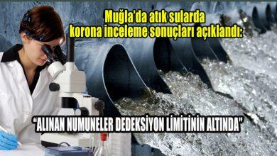 Photo of Muğla'da atık sularda korona inceleme sonuçları açıklandı