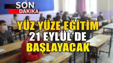 """Photo of Milli Eğitim Bakanı Ziya Selçuk: """"Yüz yüze eğitime 21 Eylül'de geçilecek."""""""