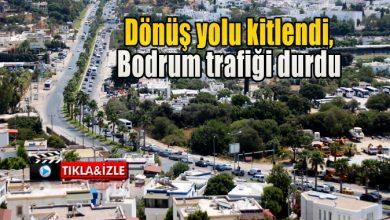 Photo of Dönüş yolu kitlendi, Bodrum trafiği durdu
