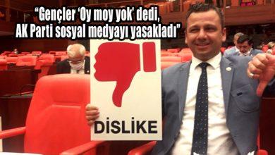"""Photo of """"Gençler 'Oy moy yok' dedi, AK Parti sosyal medyayı yasakladı"""""""
