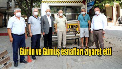 Photo of Gürün ve Gümüş esnafları ziyaret etti