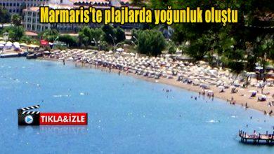 Photo of Marmaris plajlarında yoğunluk devam ediyor