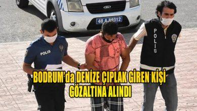 Photo of Bodrum'da bir kişi, denize çıplak girdiği gerekçesiyle gözaltına alındı.