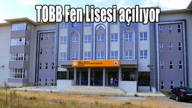Photo of TOBB Fen Lisesi açılıyor