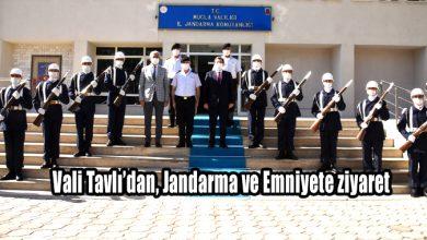 Photo of Vali Tavlı'dan, Jandarma ve Emniyete ziyaret