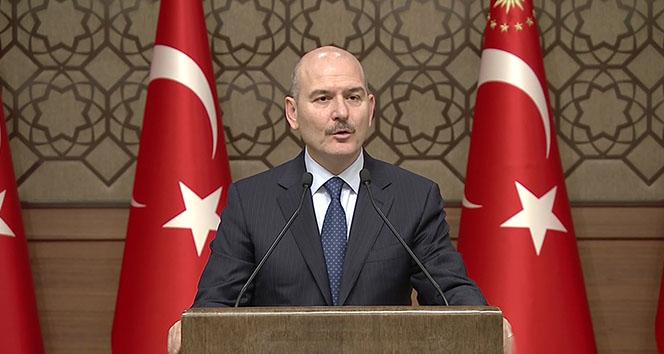 İçişleri Bakanı Soylu: 'Görevden alınan kaymakamlarla ilgili yapılan maksatlı yorumların tamamı yalandır'