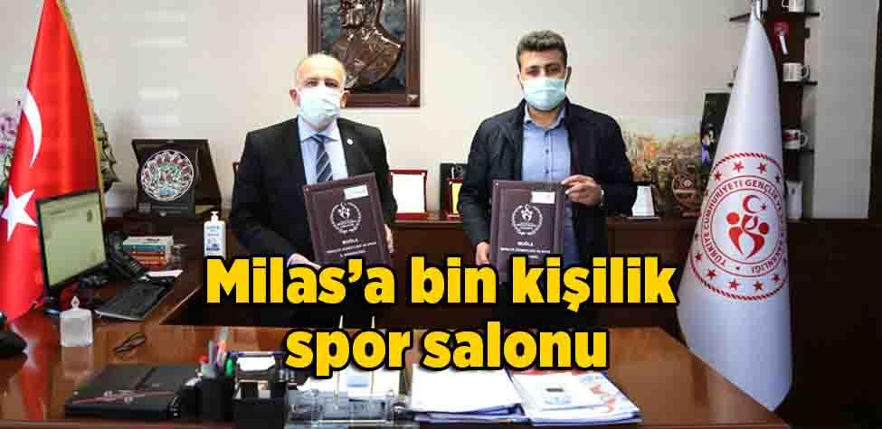 Milas'a bin kişilik spor salonu
