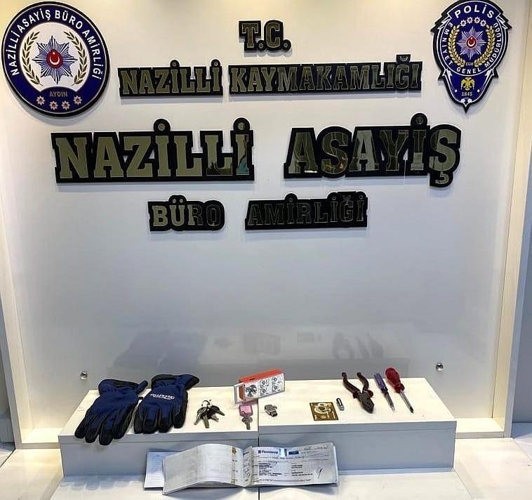 Nazilli'de gece kartalları suçlulara göz açtırmıyor