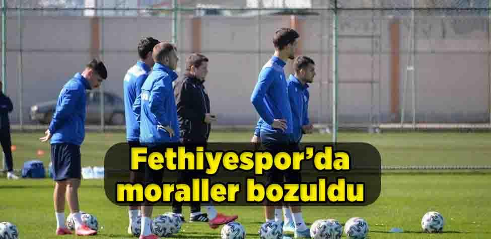 Fethiyespor'da moraller bozuldu