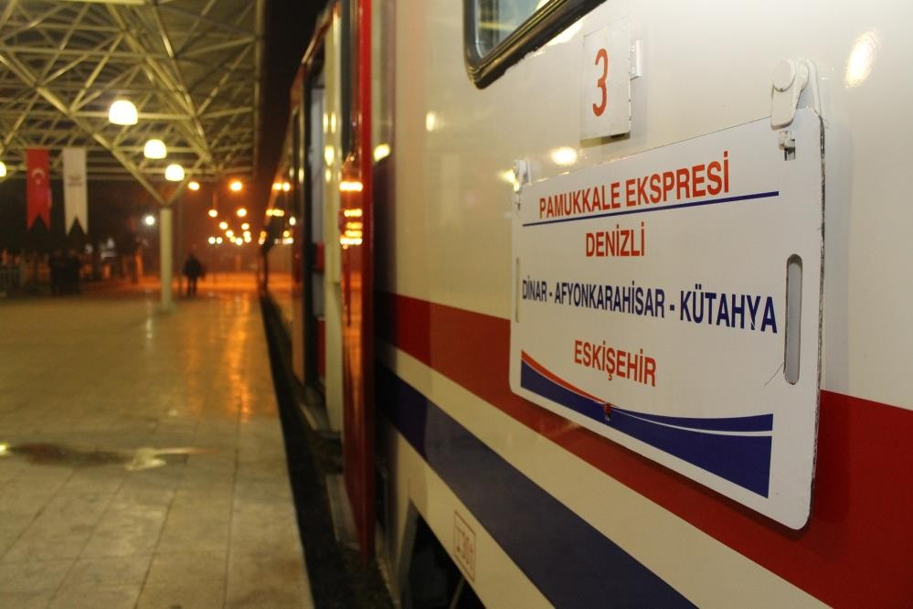 Denizli'de tren seferleri bir yıl aradan sonra yeniden başlıyor