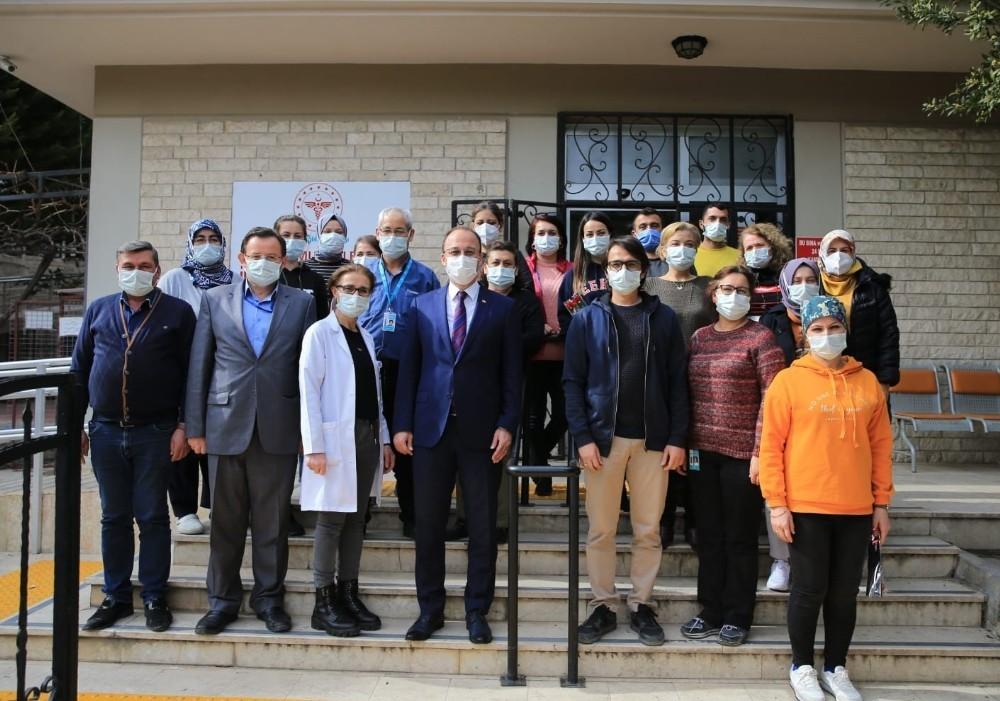 Pamukkale Belediye Başkanı Örki sağlık çalışanlarını unutmadı