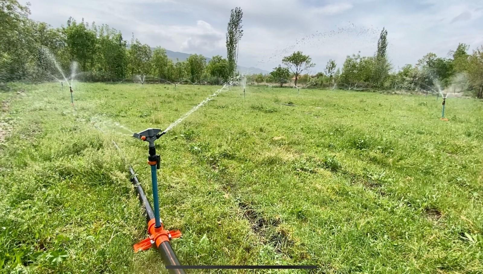 Afyonkarahisar'da bu sezon 590 bin dekar tarım arazisi sulanacak
