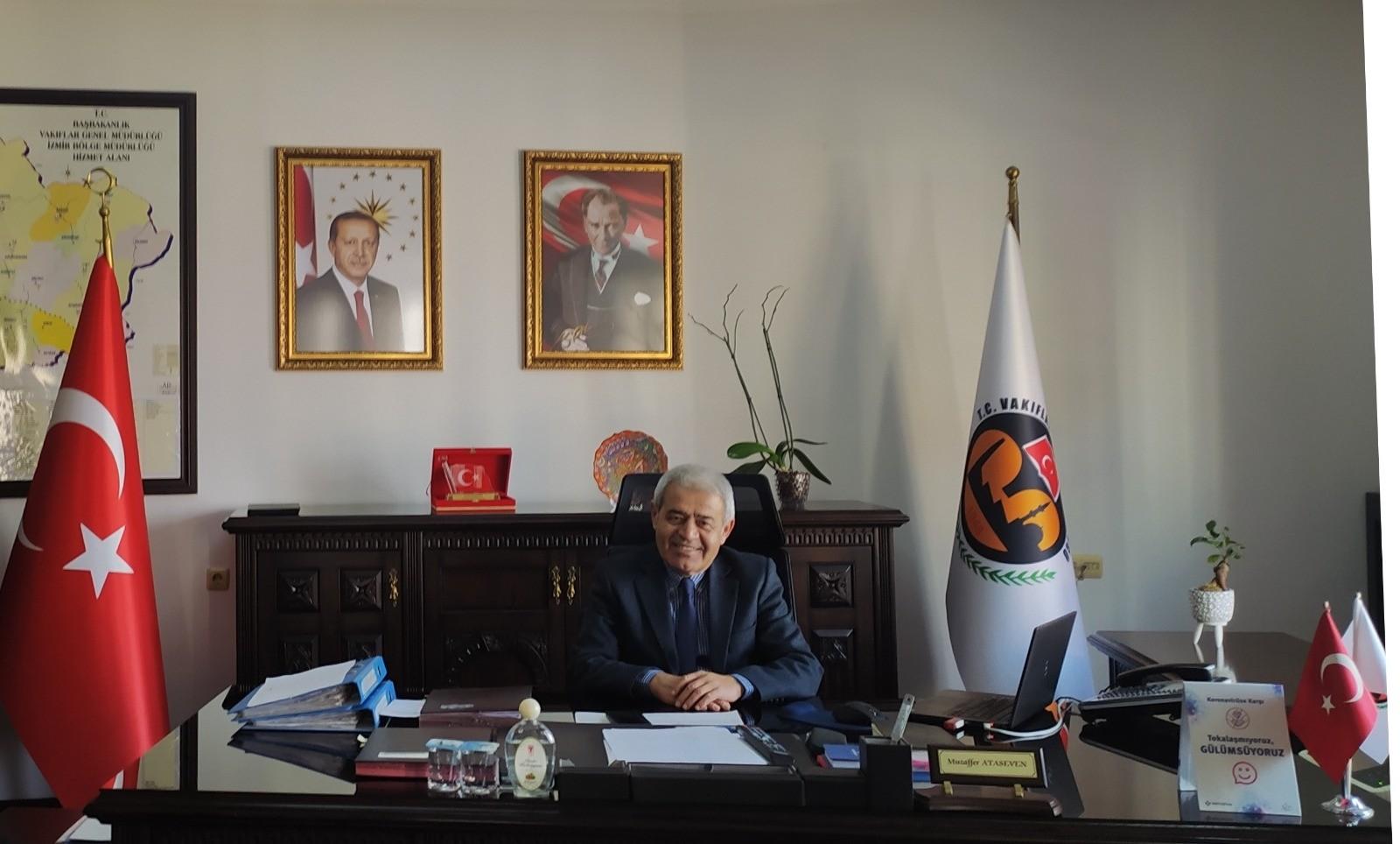 Bölge Müdürü Ataseven, Vakıflar Haftasını kutladı
