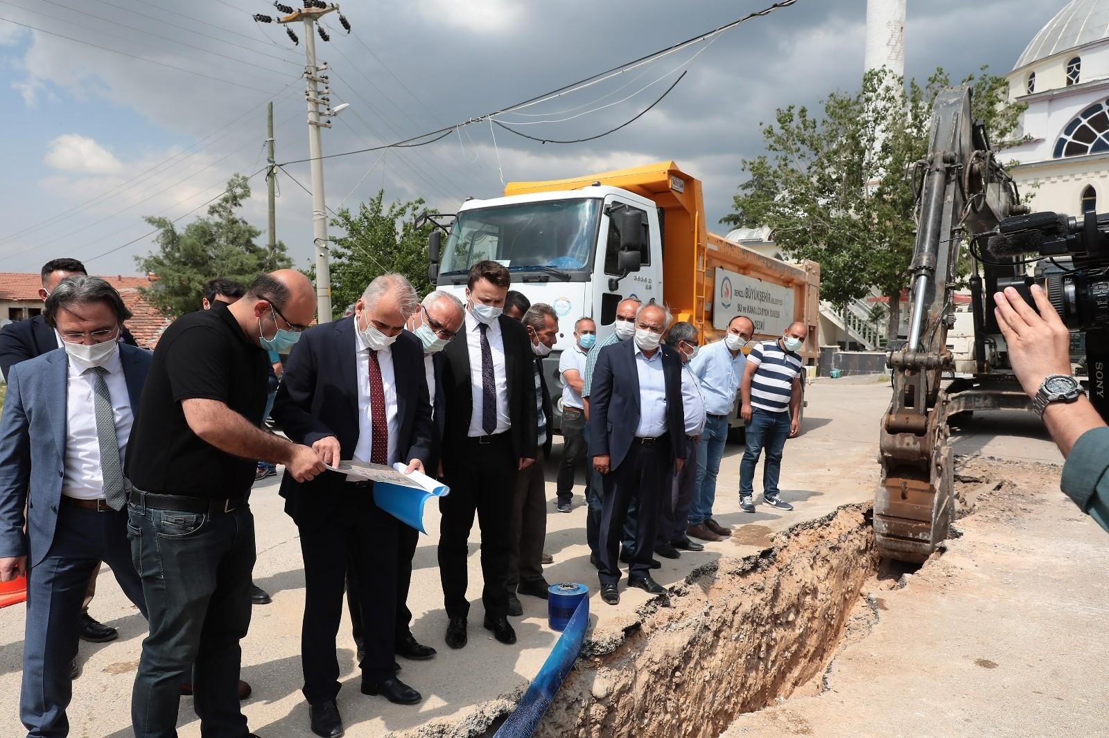 Buldan'a dev içme suyu yatırımı