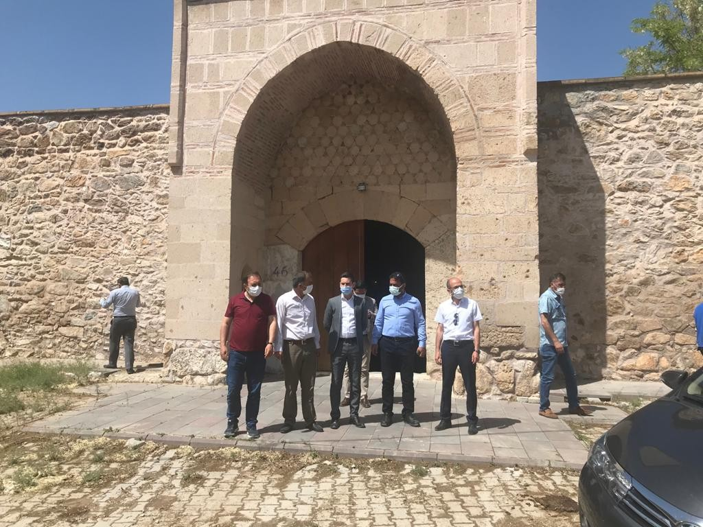 Tarihi Çakırsaz Selçuklu Hanı ziyaretçilerini bekliyor