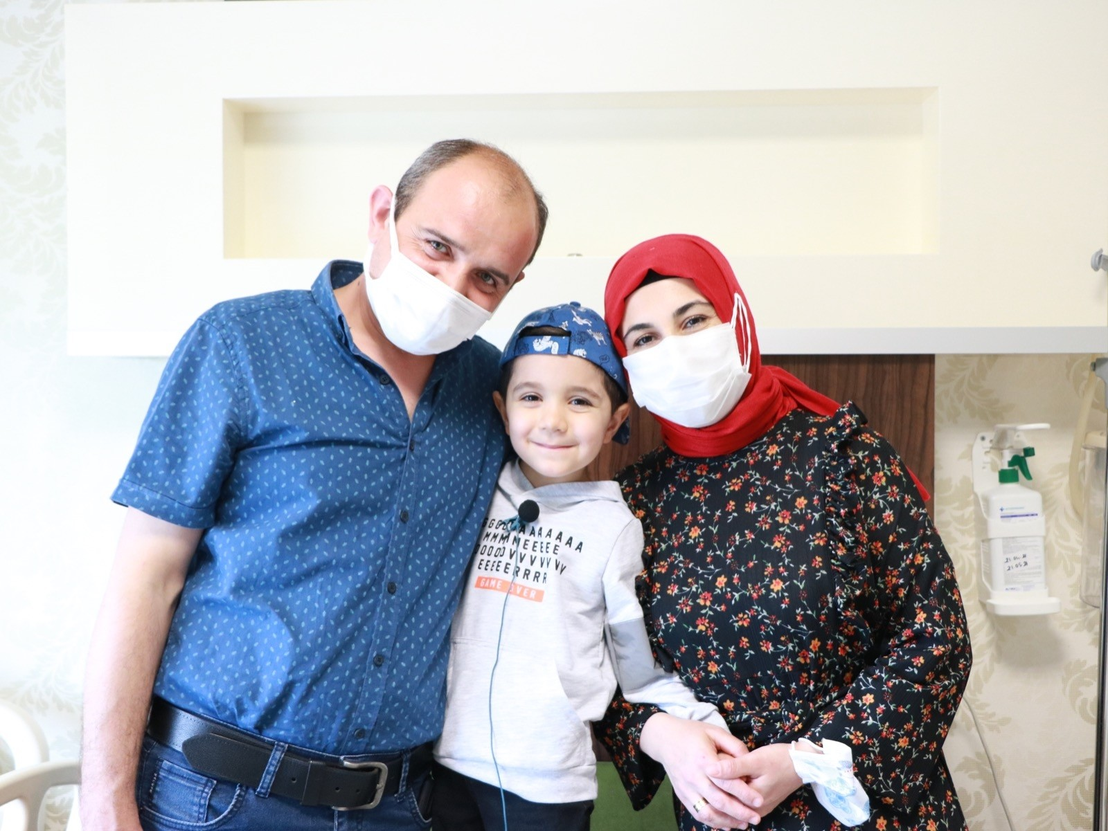 Tekden kalp ekibinden 5 yaşındaki Batuhan'a kalp ameliyatı