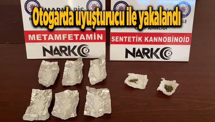 Otogarda uyuşturucu ile yakalandı