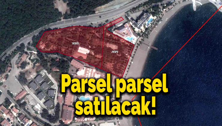 Parsel parsel satılacak!