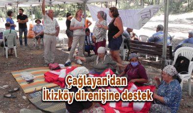 Sevin Darıcıoğlu Çağlayan'dan İkizköy direnişine destek