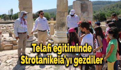 Telafi eğitiminde Strotanikeia'yı gezdiler