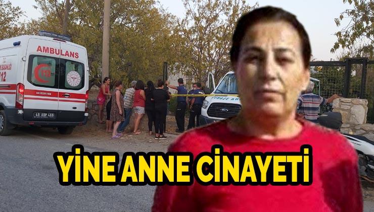 15 yerinden bıçaklanarak öldürülmüş olan kadının oğlu gözaltına alındı
