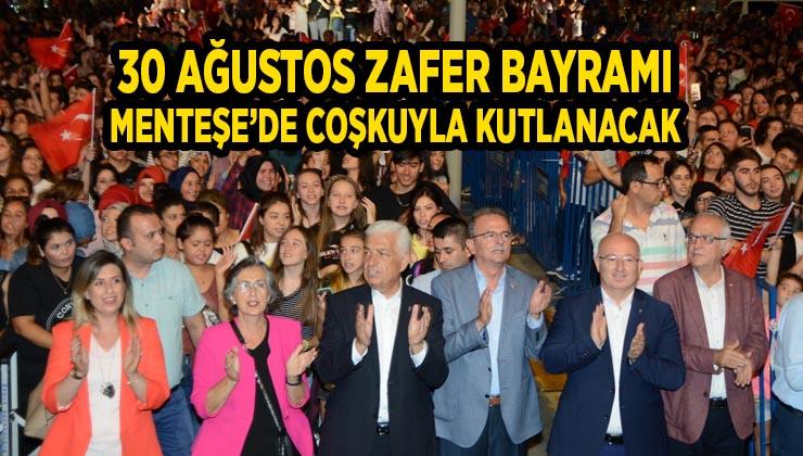 30 Ağustos Zafer Bayramı Menteşe'de Coşkuyla Kutlanacak
