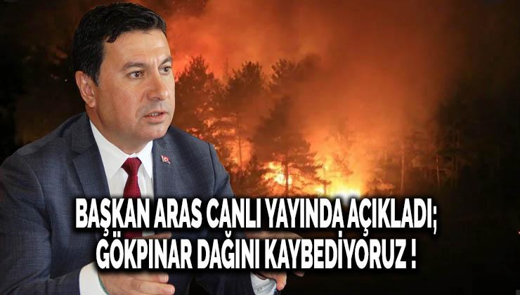 Bodrum Belediye başkanı Ahmet Aras ; Gökpınar dağını kaybediyoruz !