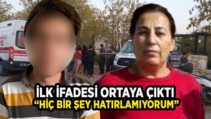 Annesini öldürdüğü iddiası ile gözaltına alınan şüphelinin ilk ifadesi ortaya çıktı