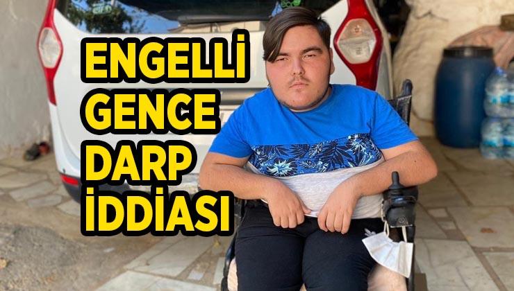 Dengesini kaybedip otomobile çarpan engelli gencin darp edildiği iddiası