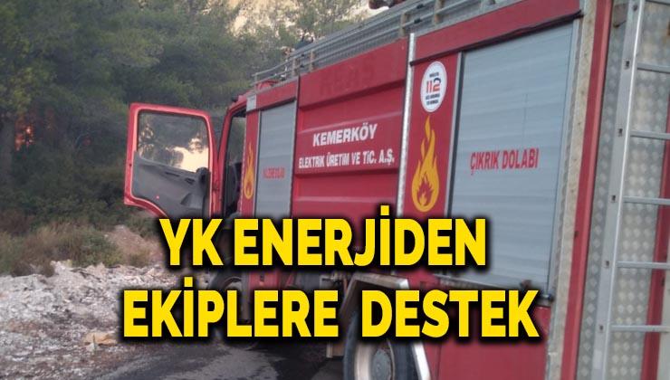 YK Enerjiden ekiplere destek
